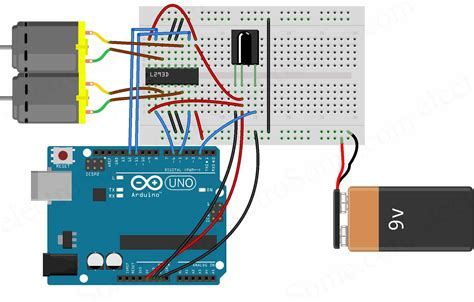 how to motor using arduino controlling dc motors using arduino and ir remote