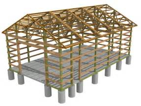 Pole Barn Design Software Barn Pole Spacing On Pole Submited Images
