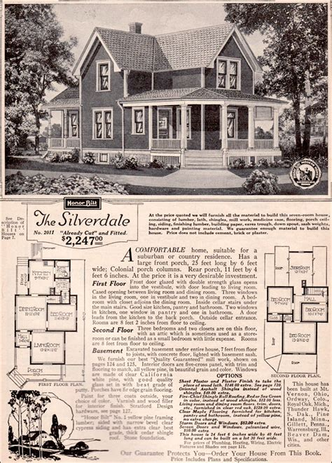 Kit Houses On Pinterest Kit Homes Bungalows And Aladdin Sears Roebuck House Plans