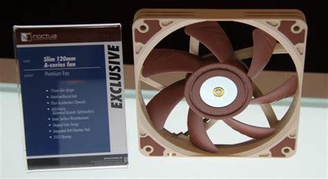 noctua 120mm slim fan noctua s new premium 120mm fans spotted at computex