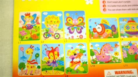 Sticker Edukasi 1 jual mainan edukasi stiker mosaik anak children education mosaic sticker logos