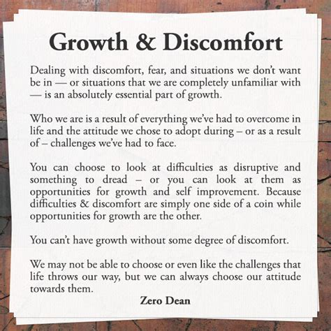 And Comfort Zone by Growth And Discomfort Getting Outside Of Your Comfort Zone