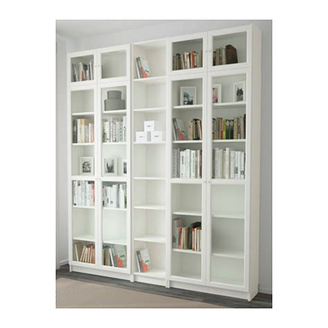 billy gestell ikea billy oxberg bookcase white 200x237x30 cm ikea