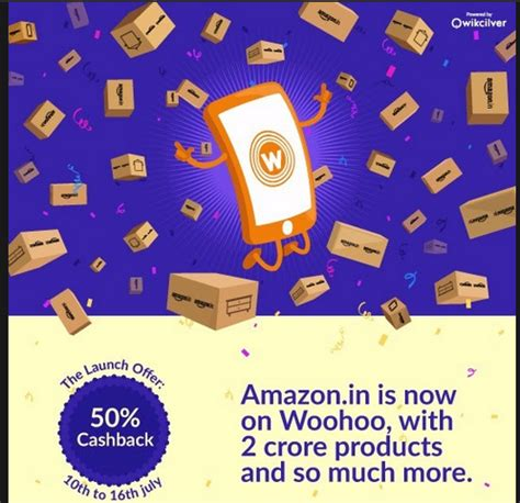 How To Use Woohoo Gift Card - update added amazon get 50 cashback on everything via woohoo gift cards