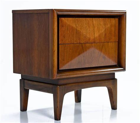 1960s bedroom furniture vintage pair of united furniture nightstands 1960s at 1stdibs