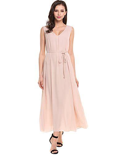 Sleeveless Emblems Dress acevog womens casual chiffon v neck sleeveless