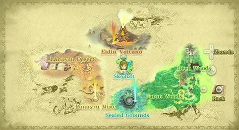 legend of zelda universe map skyward sword map google search chosen pinterest
