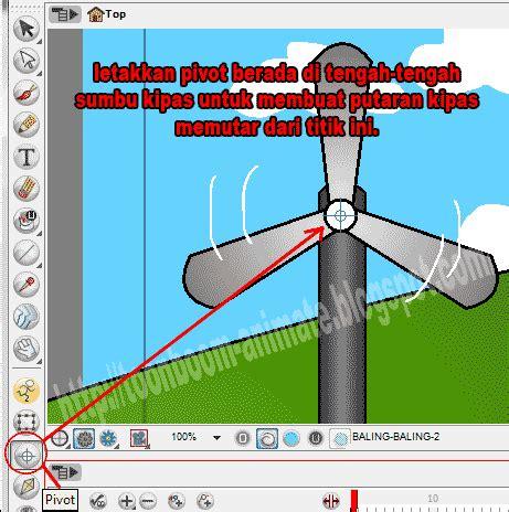 Lu Gantung Dengan Kipas Dasar Animasi Toonboom Membuat Animasi Kincir Angin