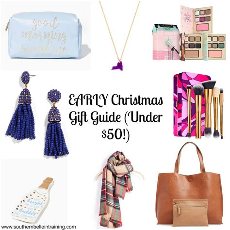 southern belle in training early christmas gift guide