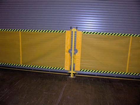 industrial retractable barrier akon skirting  bellows