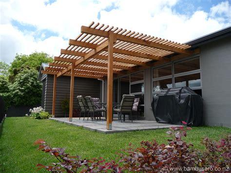 veranda nz pergola gazebo bamboo roof new zealand bambusero