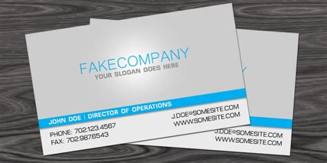 free photoshop business card template vegas printing