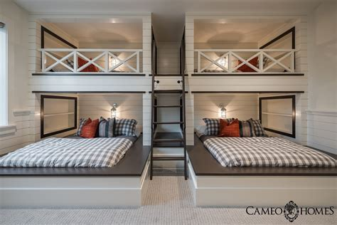 rooms with bunk beds sita montgomery interiors sita montgomery interiors the new fork project bunk room and bathroom
