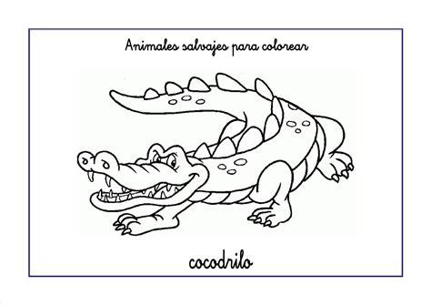 imagenes animales salvajes para colorear dibujos de animales salvajes para colorear