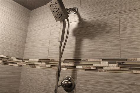 linen look subway tile what s in tile showers right now and other flooring