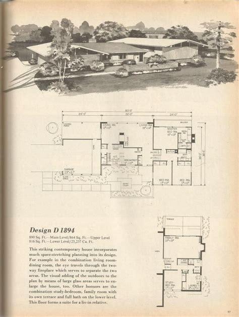 1970s house plans 1000 ideas about vintage house plans on pinterest bungalow homes plans bungalow