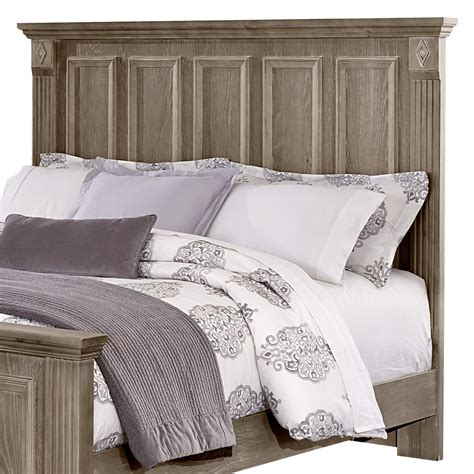 bassett headboards vaughan bassett woodlands queen mansion headboard olinde