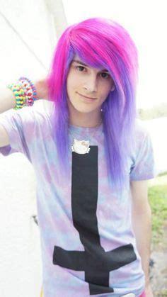 pastel goth boy girl vayne xheart pastel goth boy long hair man hair of