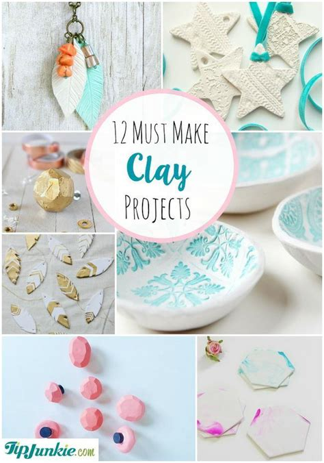 how to make clay for crafts 12 must make clay projects tip junkie