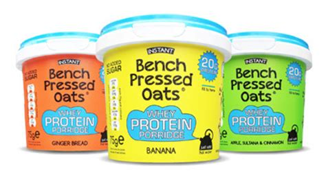 bench pressed oats tesco oomf bench pressed oats the perfect training partner