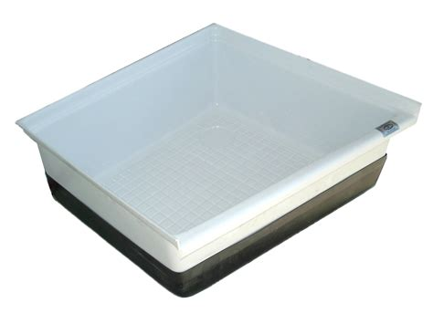 bathroom shower pans rv shower pan tub base floor cer bathroom sp200pw ebay
