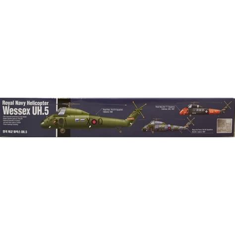 Academy 1 48 Plastic Model Kit Wessex Uh 5 Royal Navy Helicopter 122 1 academy aca12299 1 48 royal navy wessex uh 5 helicopter model aircraft kit academy from kh