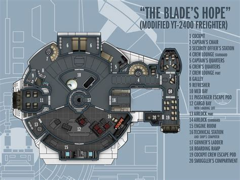 star wars ship floor plans blade s hope by http boomerangmouth deviantart c by