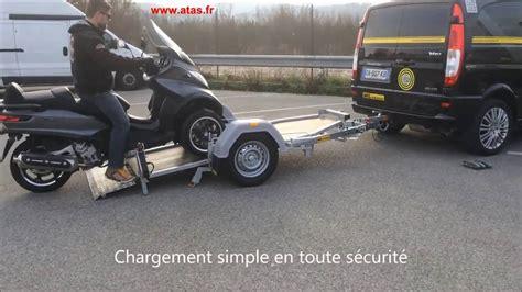 porte moto basculant pour scooter 3 roues mp3 atas
