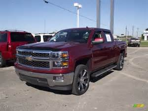2014 silverado colors 2014 ruby metallic chevrolet silverado 1500 lt crew