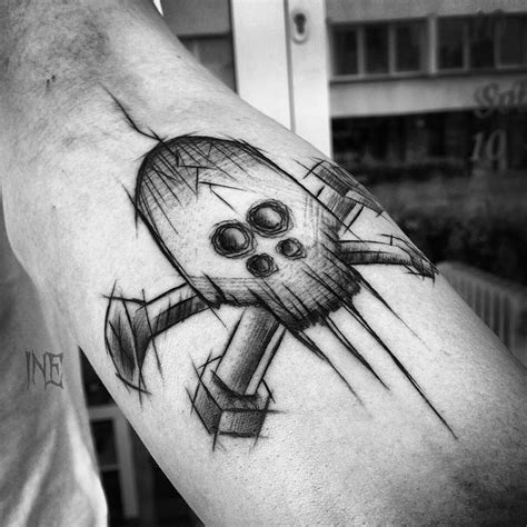 screw tattoo designs bolt on arm best ideas gallery