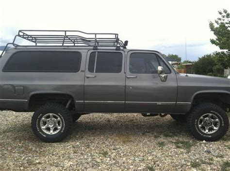 Roof Rack Suburban by Find Used 1990 Gmc R2500 Suburban 4wd 4 Quot Lift Custom