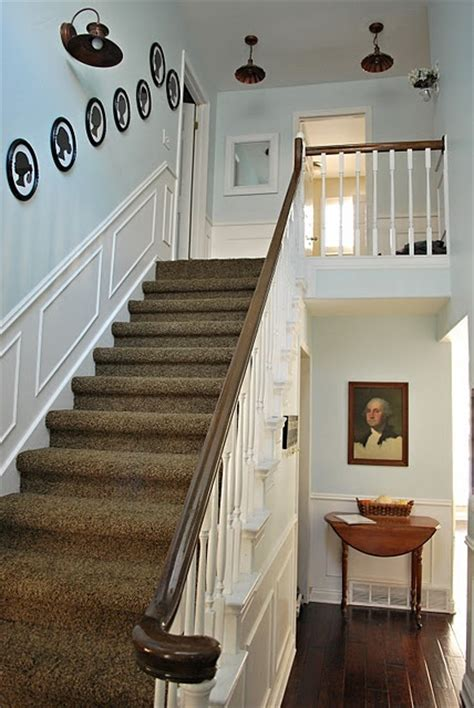 Wainscoting Up Stairs by 17 Best Images About Wainscoting Stairs On