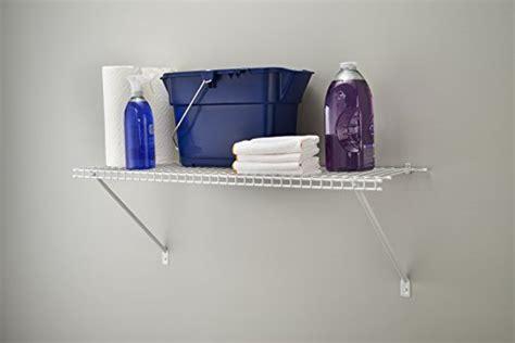 Closetmaid 2 Ft Wire Shelf Closetmaid 1021 Prepack Wire Shelf Kit 2 New Ebay