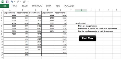 vba find last used row with data in particular column