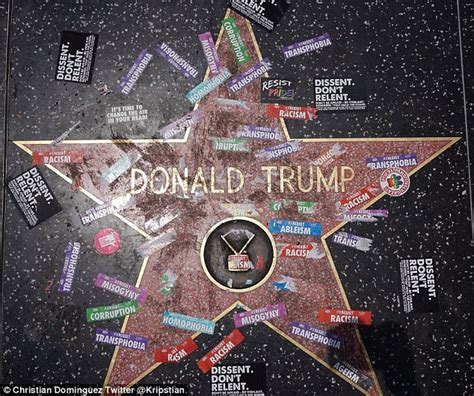 Michael Jordan Wall Stickers trump s hollywood walk of fame star vandalized again