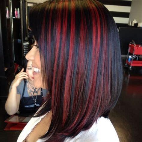 colors of streaks in hair for black women 50 spicy red hair color ideas hair motive hair motive
