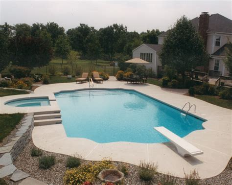pools with spas new jersey custom concrete pool installers