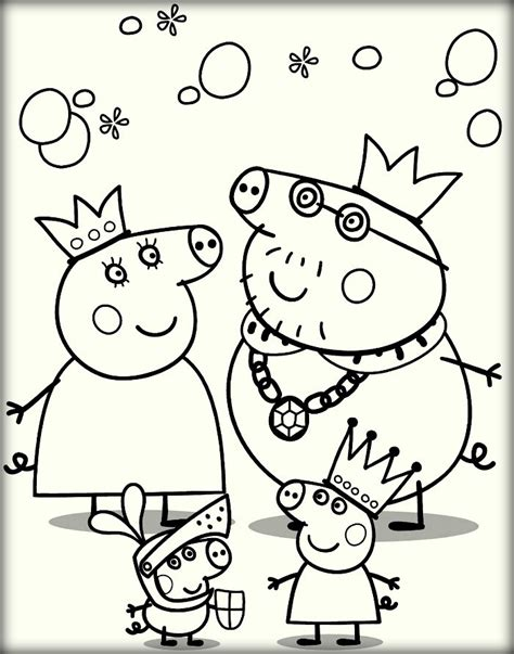 peppa pig characters coloring pages peppa pig coloring pages for print and color color zini