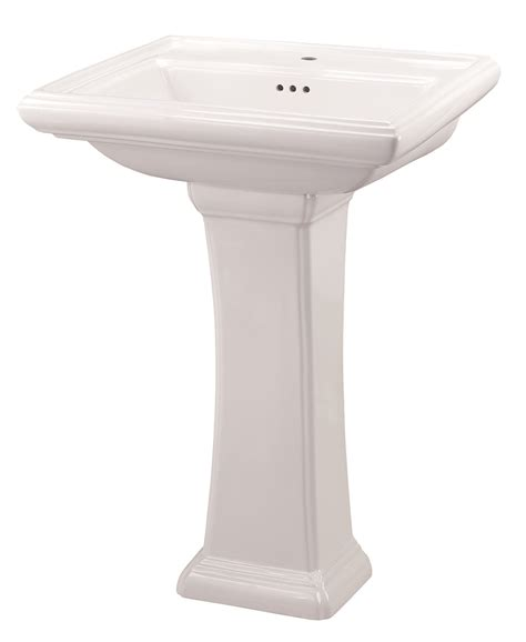 single pedestal sink logan square 4 quot centers pedestal bathroom sink