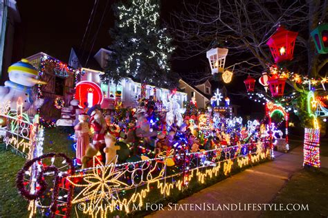 most decorated holiday homes on staten island this holiday