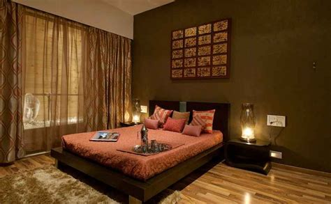 Earthy Bedroom Design Ideas Rna Grand 3bhk By Shahen Mistry Interior Designer In