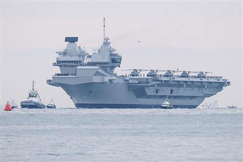 portaerei inglese ecco la 171 elisabeth 187 foto pi 249 portaerei della storia