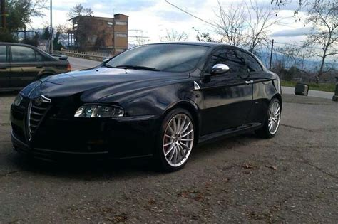 alfa romeo gt black qv badge stands out in drivetwocity naousa s black alfa