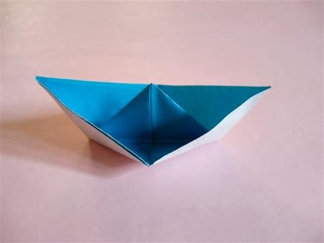 Origami Fishing Boat - origami boat how to make origami boat