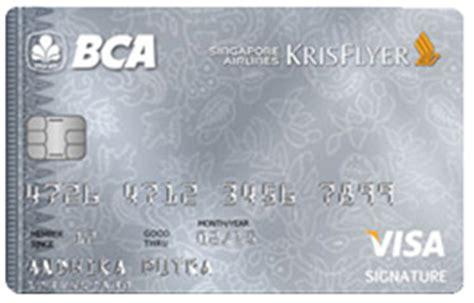 Bca Visa Sq Signature | kartu kredit bca indonesia 2017
