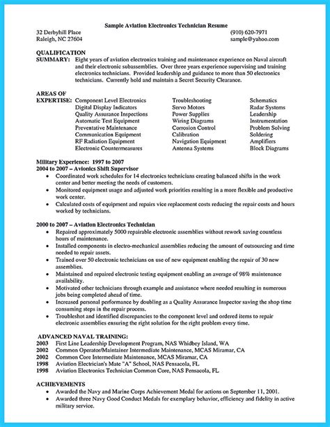 aircraft mechanic resume template learning to write a great aviation resume