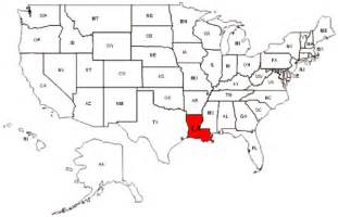 us map la louisiana maps and data myonlinemaps la maps