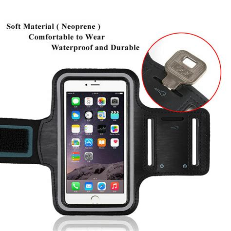 for iphone xs max xr x 8 7 6s 6 armband sport running exercise arm band ebay