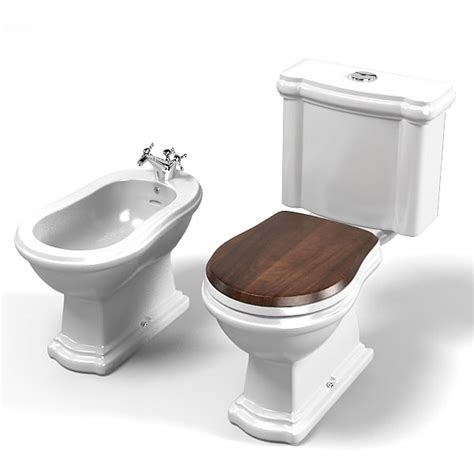 Bidet Closet by Kerasan Toilet Wc 3d 3ds