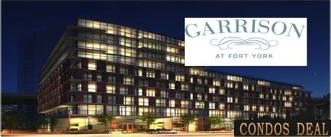 169 fort york blvd floor plans garrison at fort york condos deal